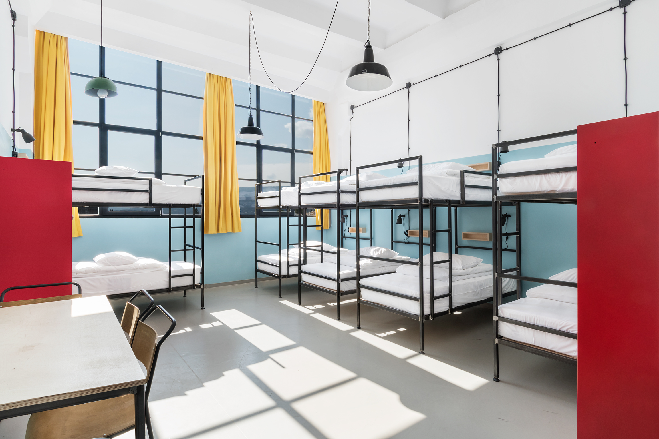 10 bed dorm at Fabrika hostel