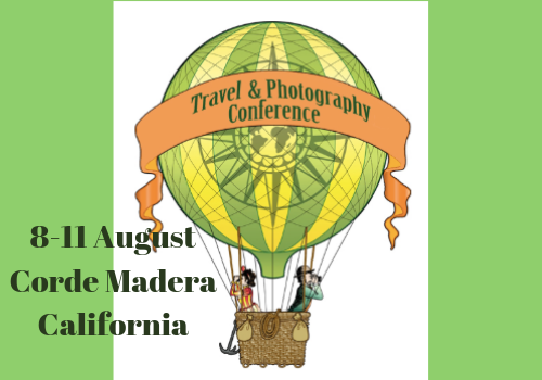 Travel Writers Conference Poster, Hot Air Balloon, 1920s style