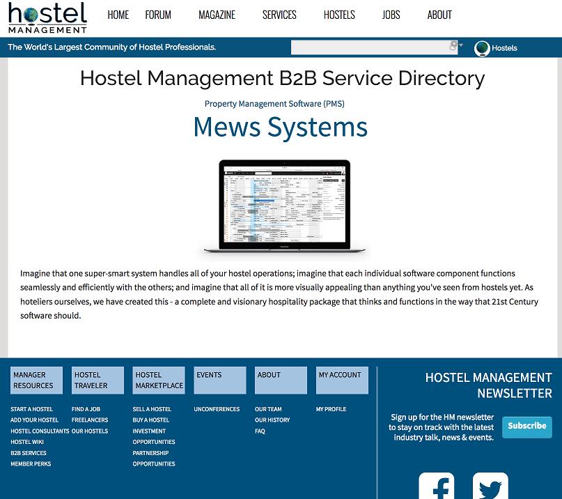 B2B Hostel Service Directory