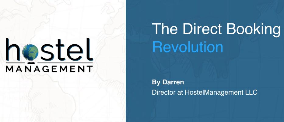 Slide of Direct Booking Revolution