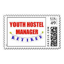 Hi USA Hostel Postage Stamp hundedth year