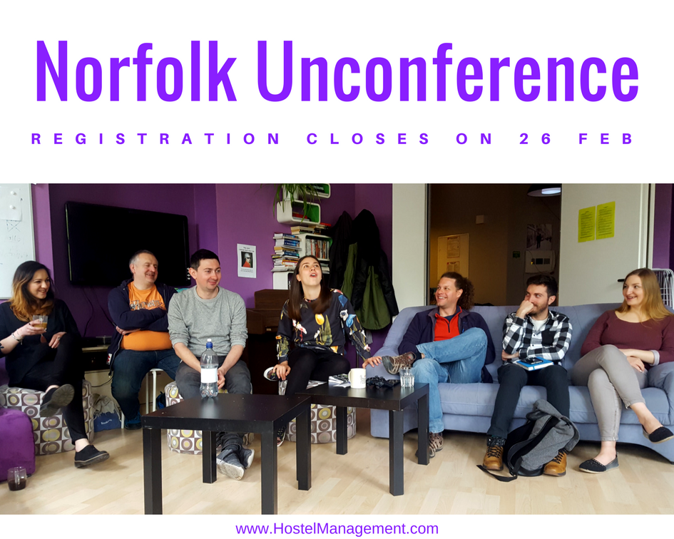 Unconference registration closes on 26 Feb 2018