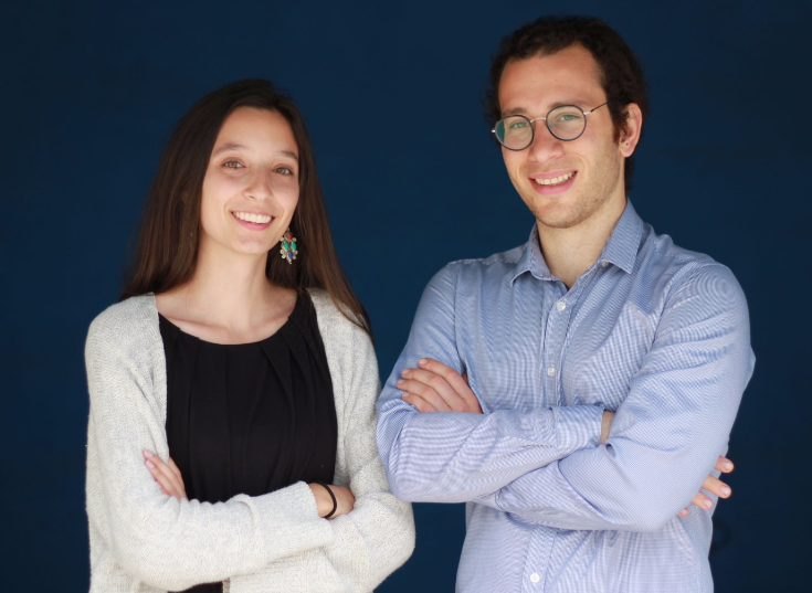 HostelPass founders Sarah Weingust and Meir Razzon