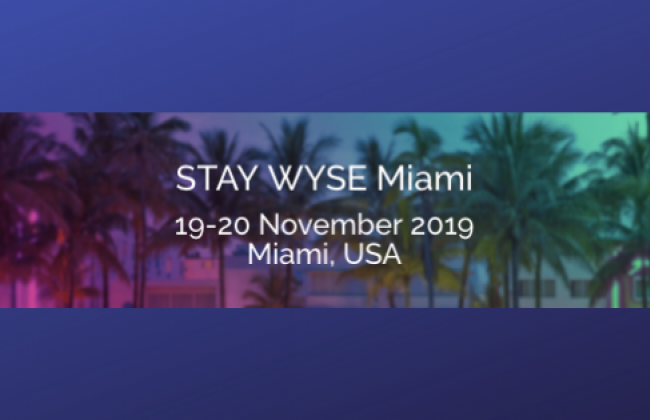 StayWyse Miami Poster, November 2019