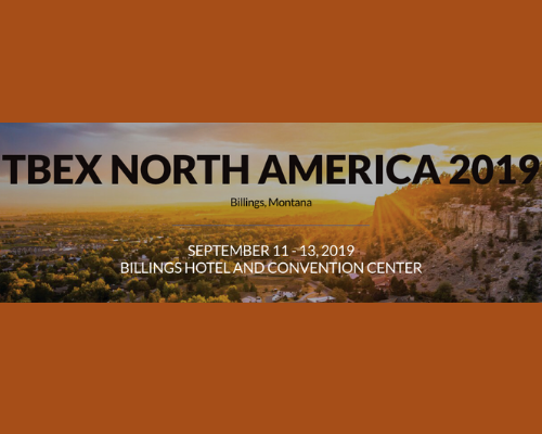 Travel Media Conference Poster, Billings Montana Sunset Ridge