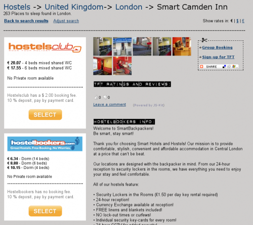 TFT hostels dot com Launches Meta Booking Engine for Hostels