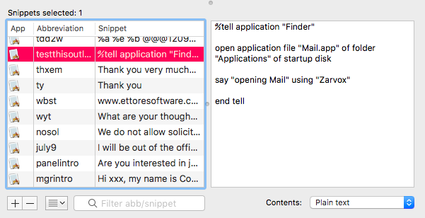 TypeIt4Me app example