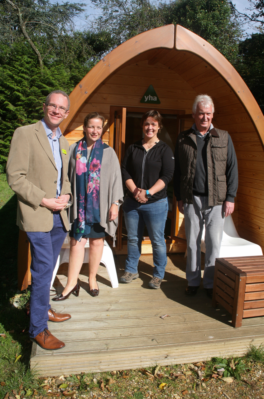 yha new forest hostel opening
