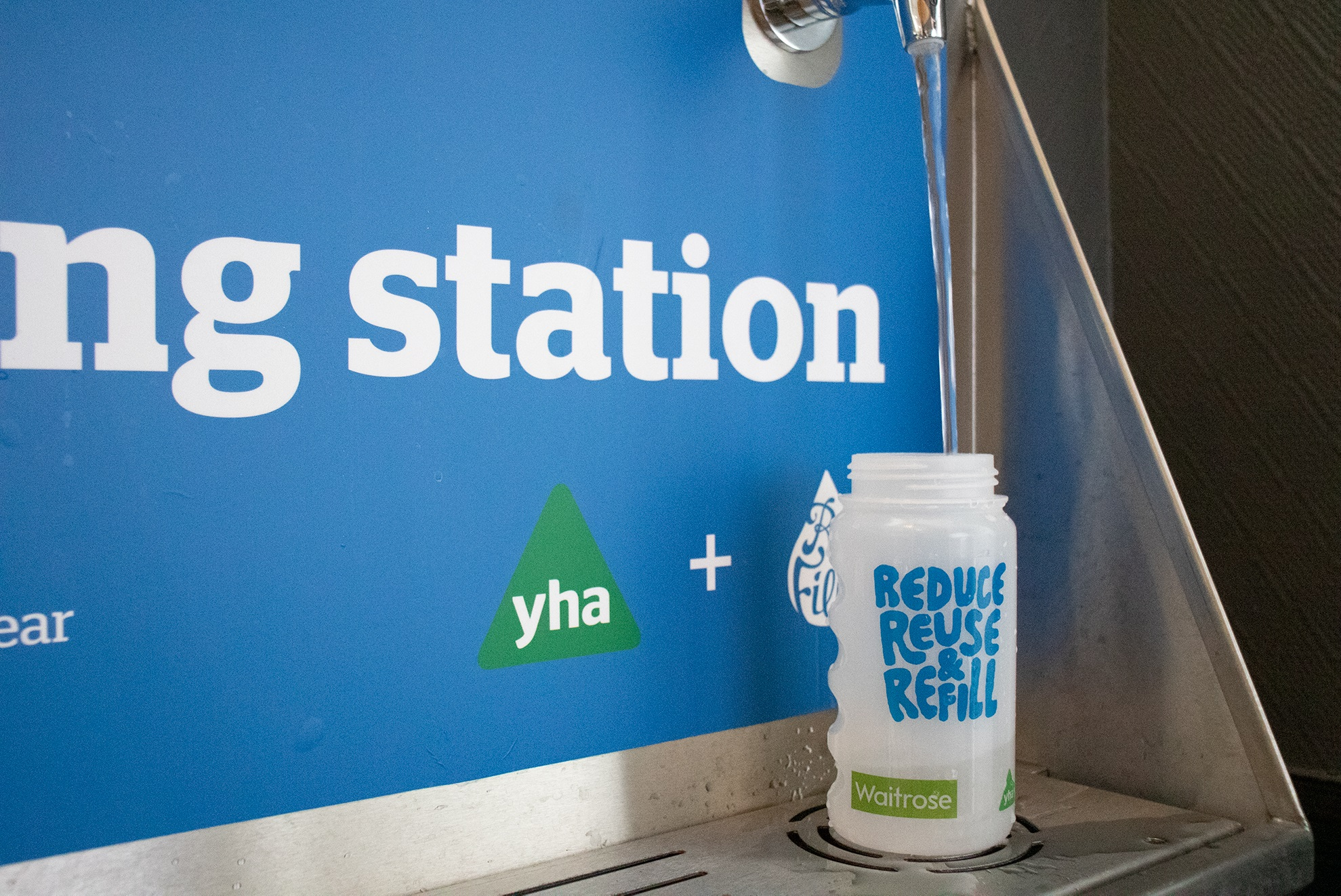 YHA Refill Station Water Tap