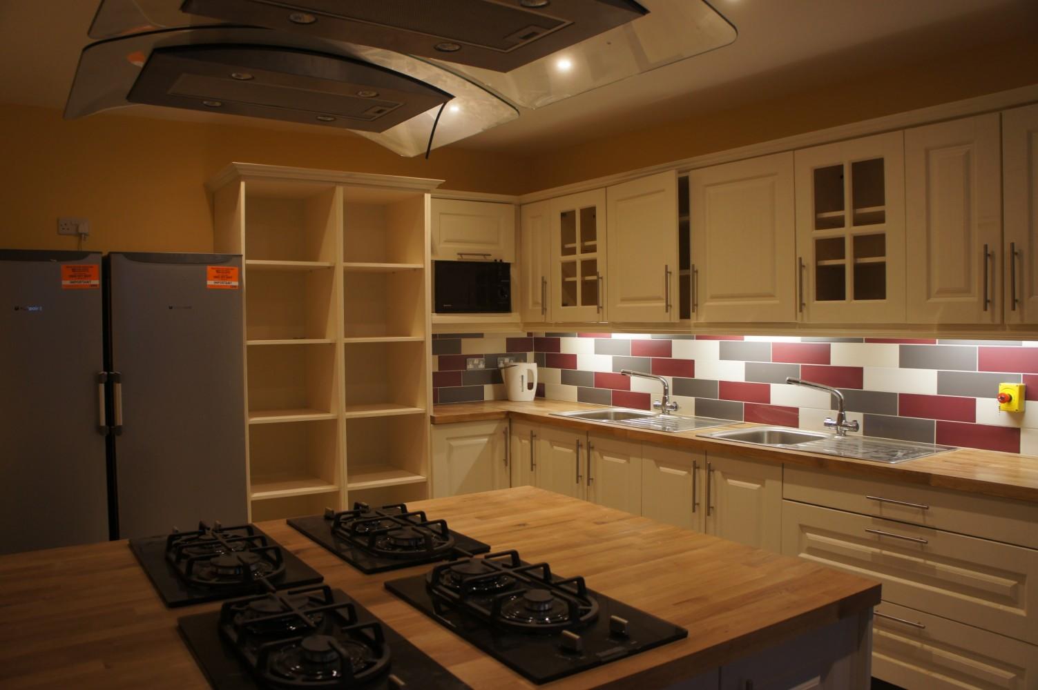 Black Sheep Hostel Kitchen