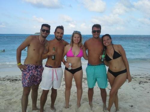 Hostel Manager with Argentine People