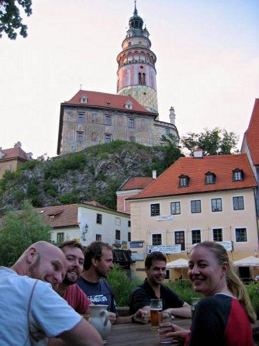 krumlov hostel house cesky czech History drinking