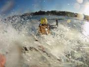 surf hostel white water waves splash games