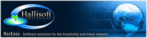 Hallisoft frontdesk company hostel booking software logo