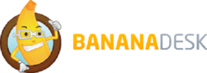 bananadesk logo front desk software hostels