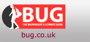 bug logo hostel website directories