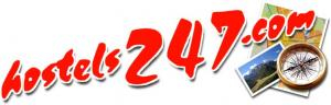 hostels247 logo hostel booking engine