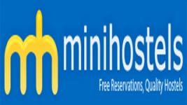 mini hostels logo booking engine