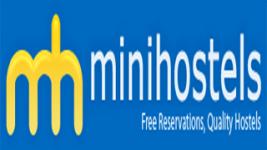 mini hostels logo booking engine