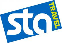 sta travel logo hostel booking engine
