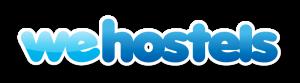 we hostels logo booking engine