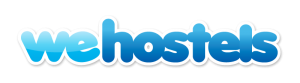 we hostels logo booking engine