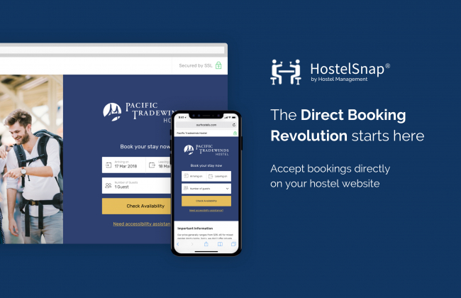 Learn about HostelSnap Direct Booking Engine Click Here