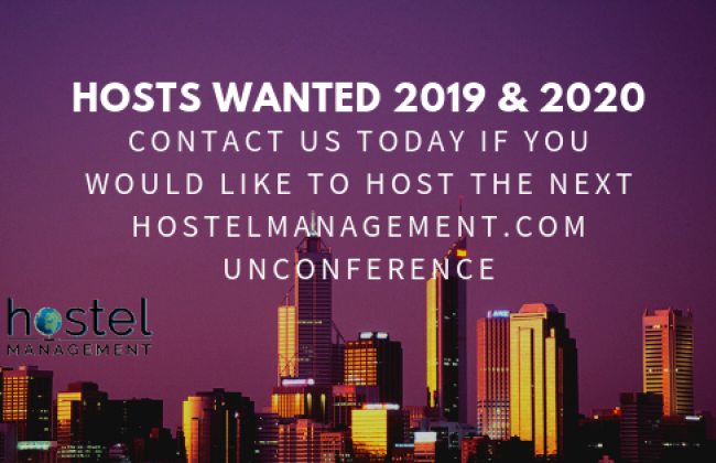 Unconference Poster - Looking for Hosts 2019, 2020