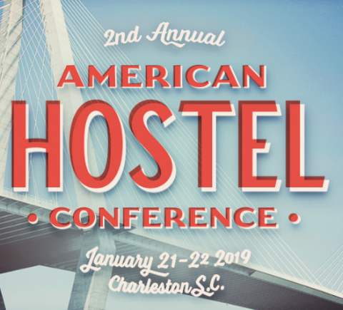 American Hostel Conference Poster, Bridge and Sky