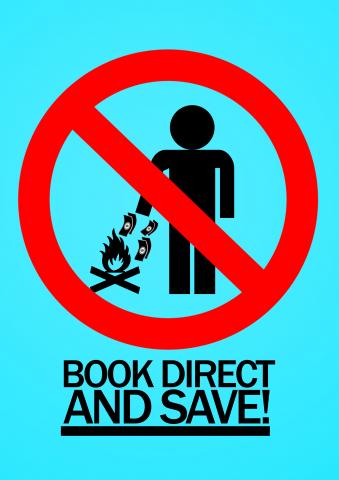 Book Hostels Direct Poster