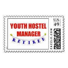 Hi USA Hostel Postage Stamp hundedth year