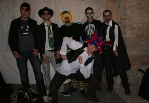 Hostel Halloween Parties in Leipzig and Prague