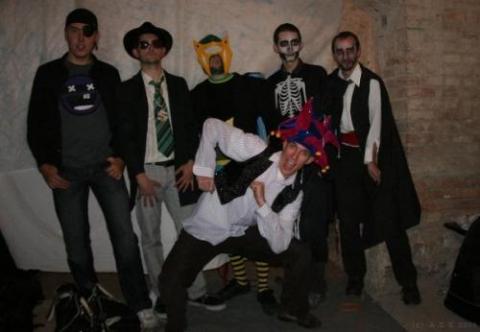 Hostel Halloween Parties in Leipzig and Prague