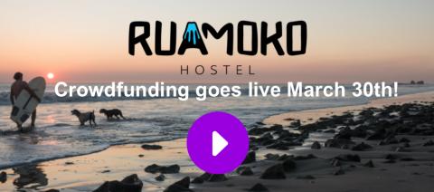 Ruamoko Hostel crowdfunding