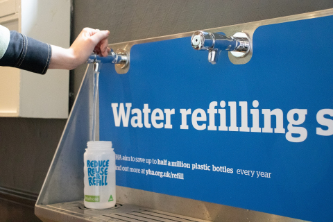 Water Refill Station YHA