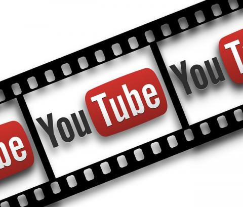 YouTube Icon On Film