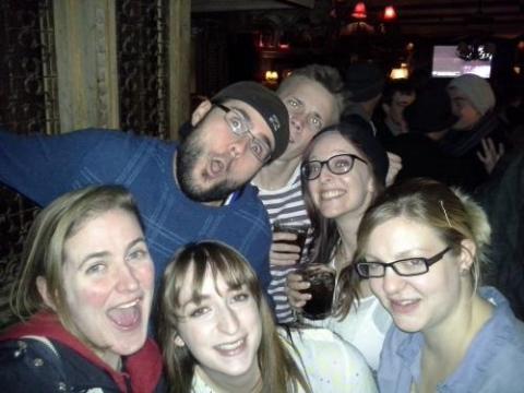 adventure queenstown staff new zealand people part social drinkin party bar pub