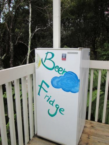 beer fridge bachelor pad outside fridge