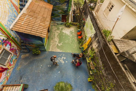 Favela Experience hostel from the top