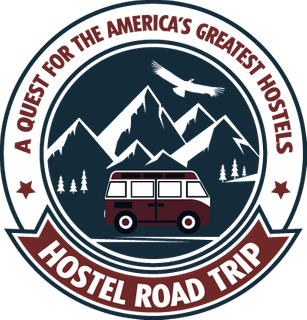 Hostel Road Trip Podcast logo