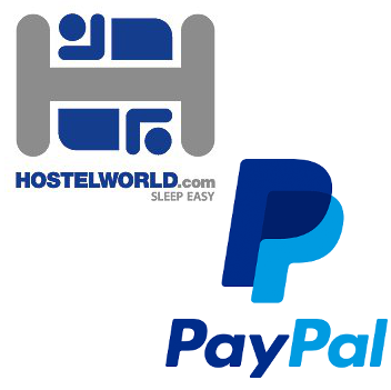 Hostel Paypal Options
