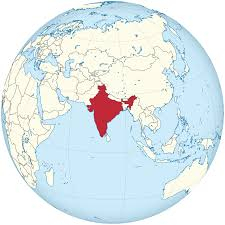 india-globe-map-world