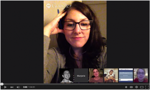 social media virtual panel discussion youtube google hangouts hostel managers