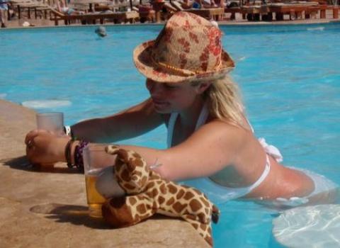 swim up bar pool drinks