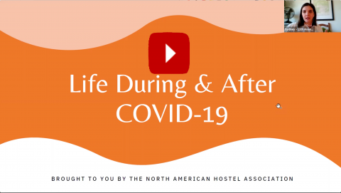 Title Screen for Life During & After COVID webinar