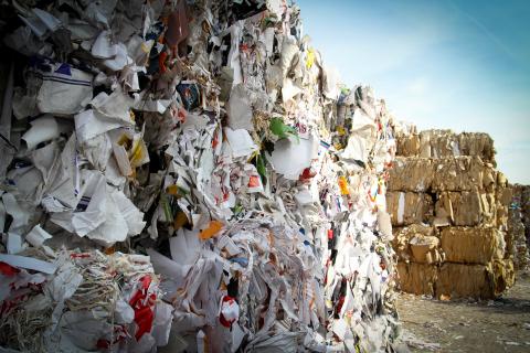 Bales of Trash