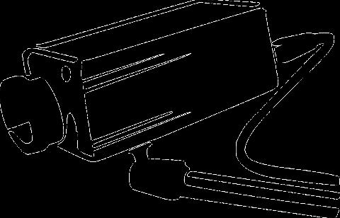 A video surveillance camera image